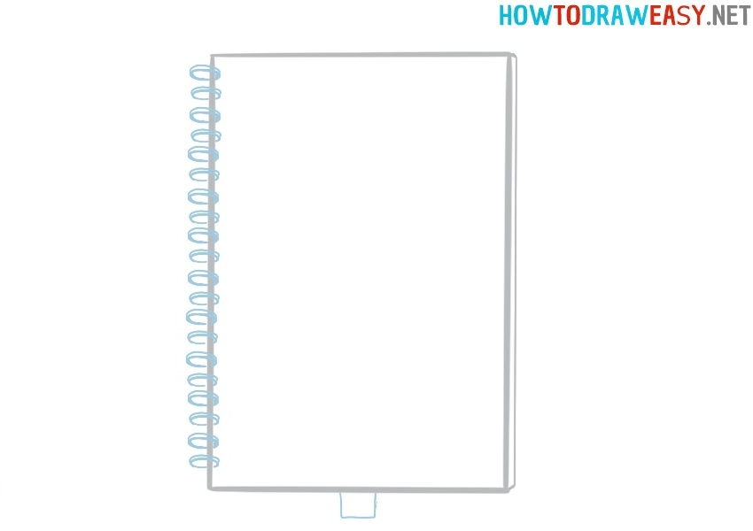 Drawing a notebook