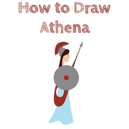 how-to-draw-athena