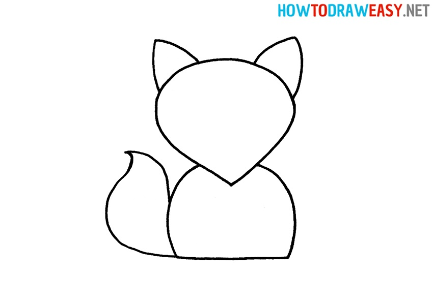 Fox Drawing Lesson For Kids