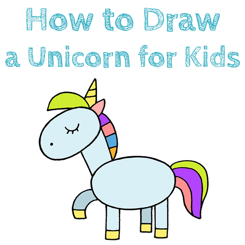 Learn How to Draw a Unicorn