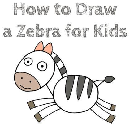 Learn How to Draw a Zebra