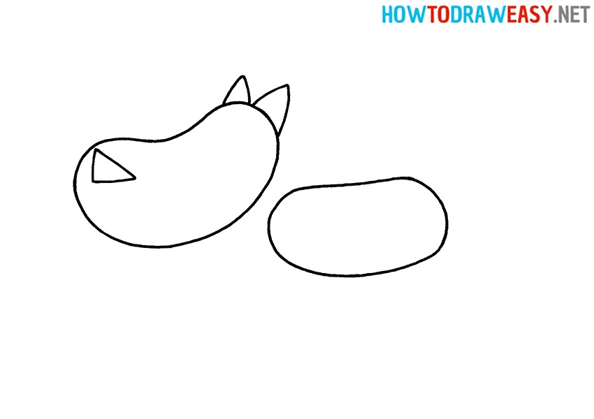 Learn how to draw a wolf for kids