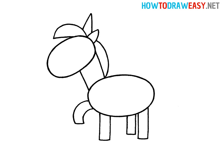 Unicorn Easy Drawing Tutorial