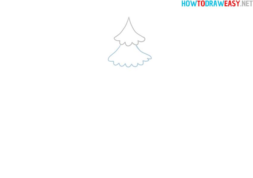 christmas-tree-sketching