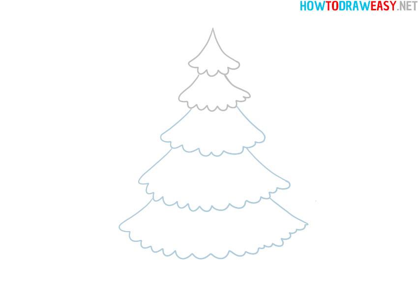 christmas-tree-step-by-step