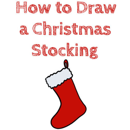 how-to-draw-a-christmas-stocking-for-kids