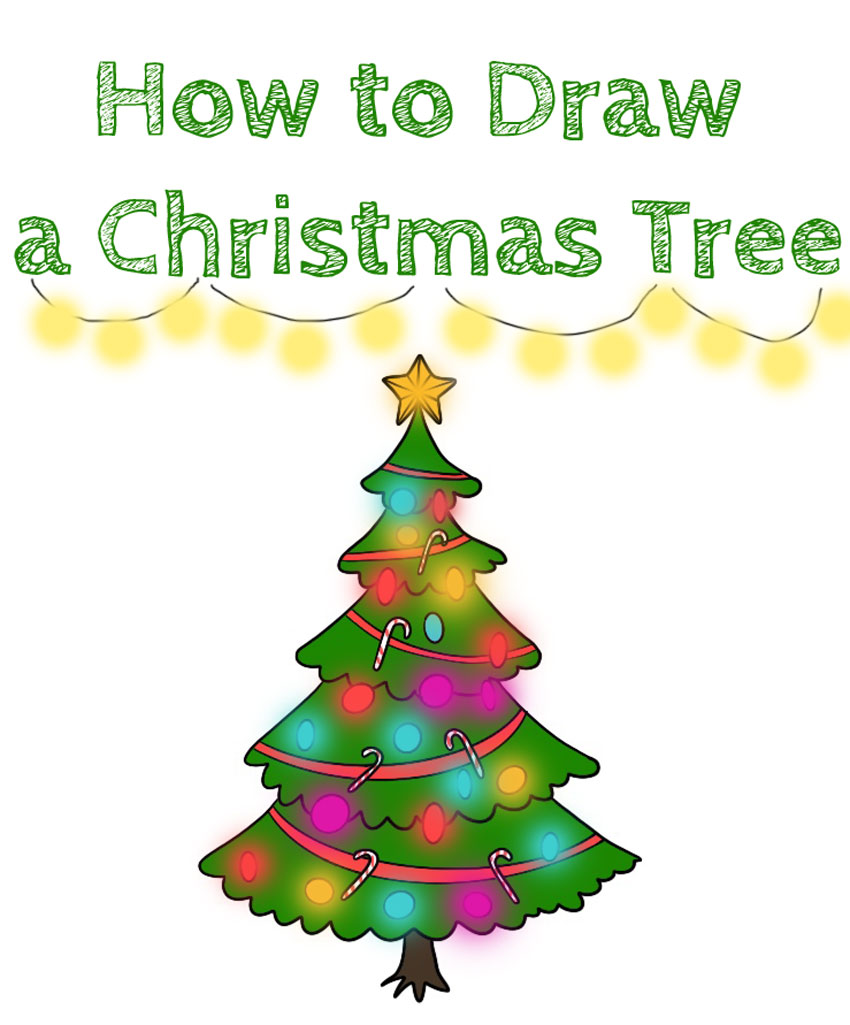 how-to-draw-a-christmas-tree