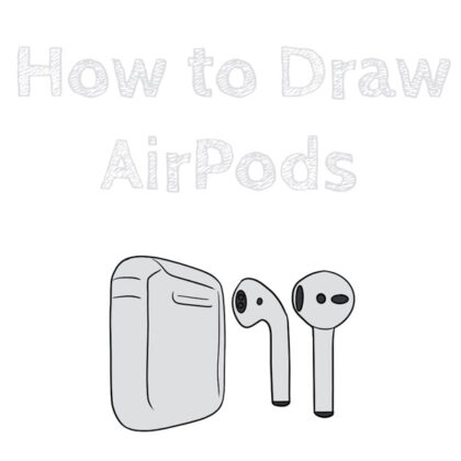 how-to-draw-airpods-apple