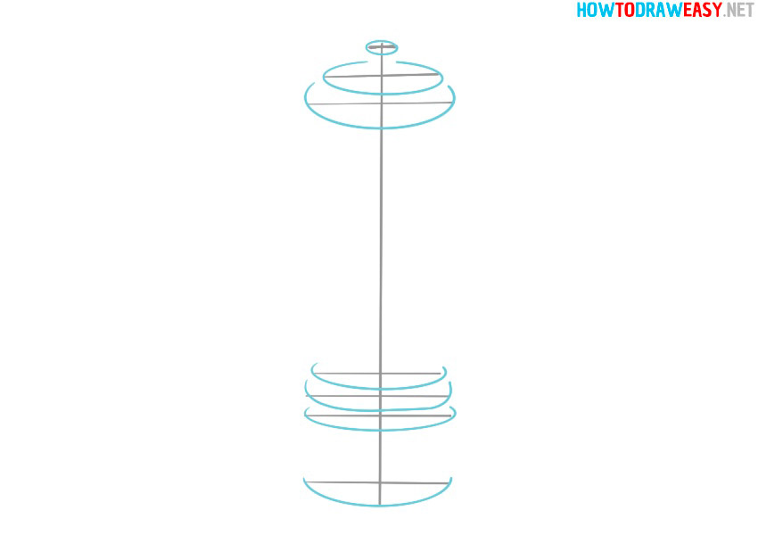 how to draw pepper grinder