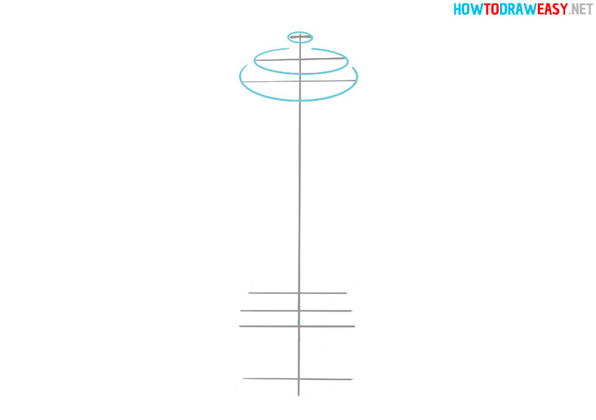 pepper mill drawing easy