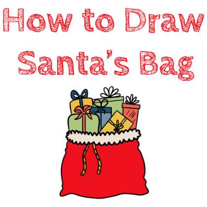 santa's-sack-drawing-santa-bag