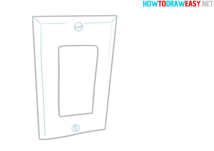 socket easy drawing