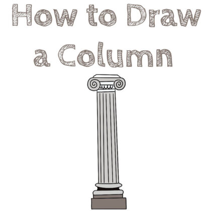 how to draw column