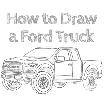 Ford Truck How to Draw