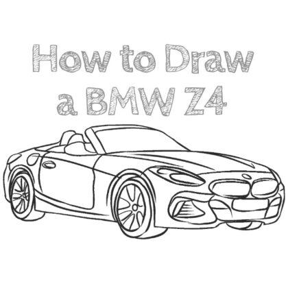 How to Draw BMW Z4