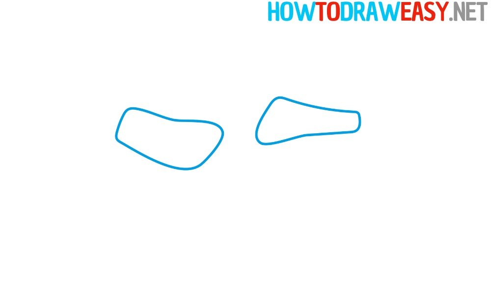 Pointe Shoe Drawing Tutorial Easy
