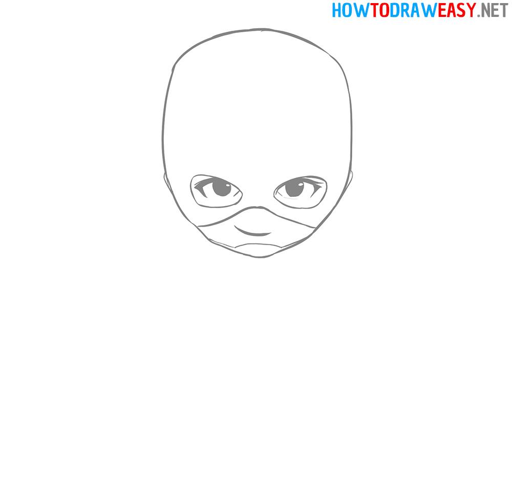 Chibi Face Drawing Tutorial