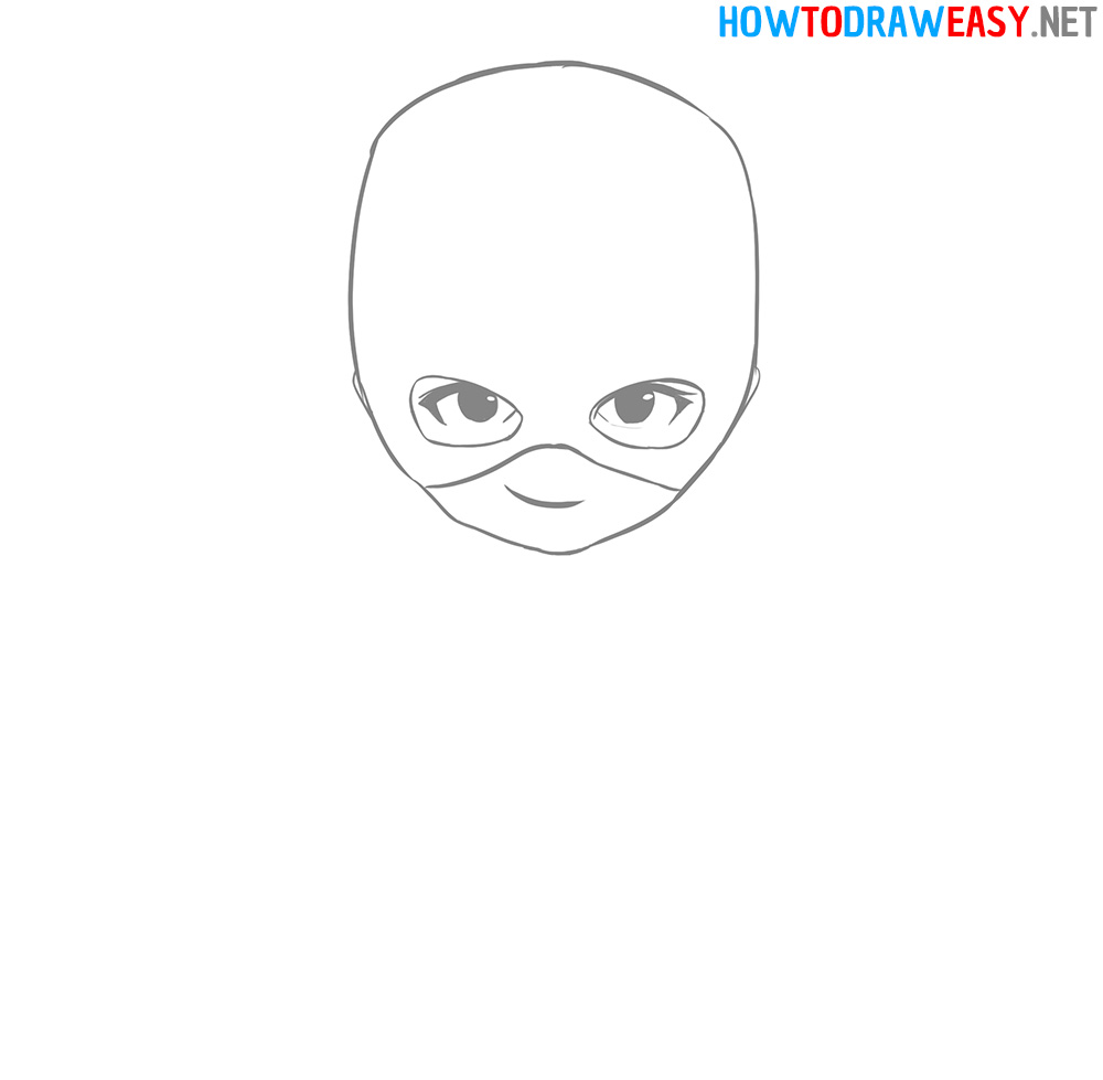 Chibi Face Easy Drawing