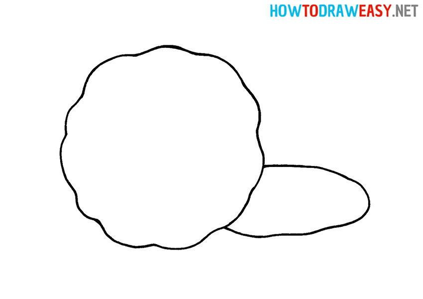 Cookie Easy Drawing