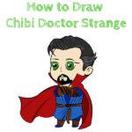 How to Draw Chibi Doctor Strange