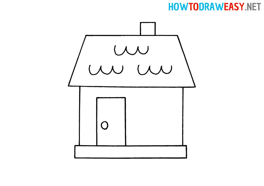 Draw a House for Kids