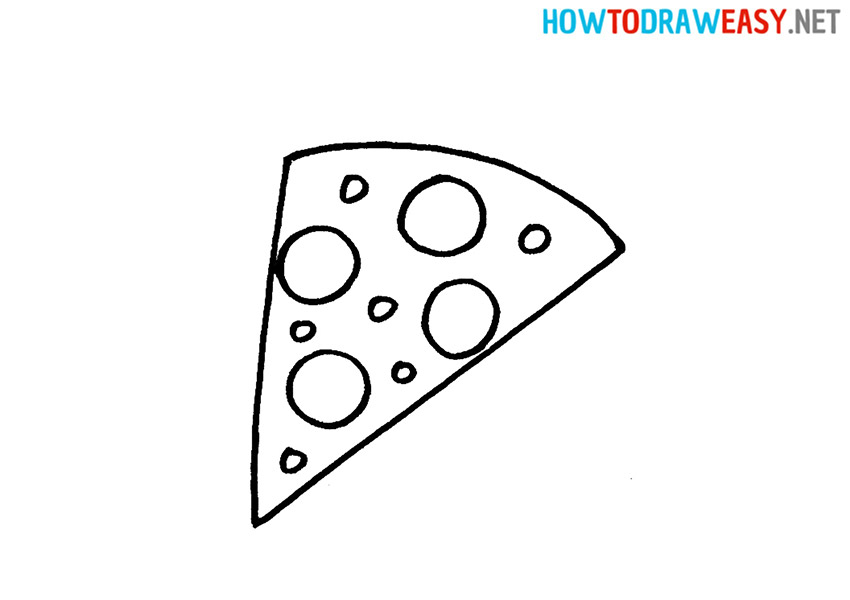 Drawing Pizza for Kids