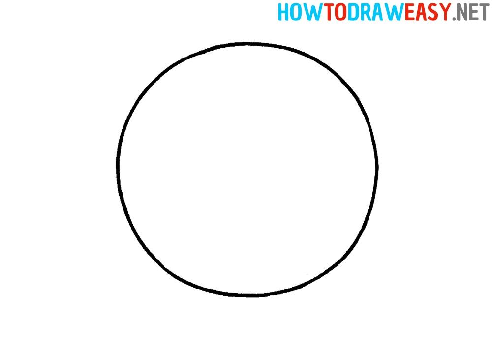 Drawing Tutorial Donuts