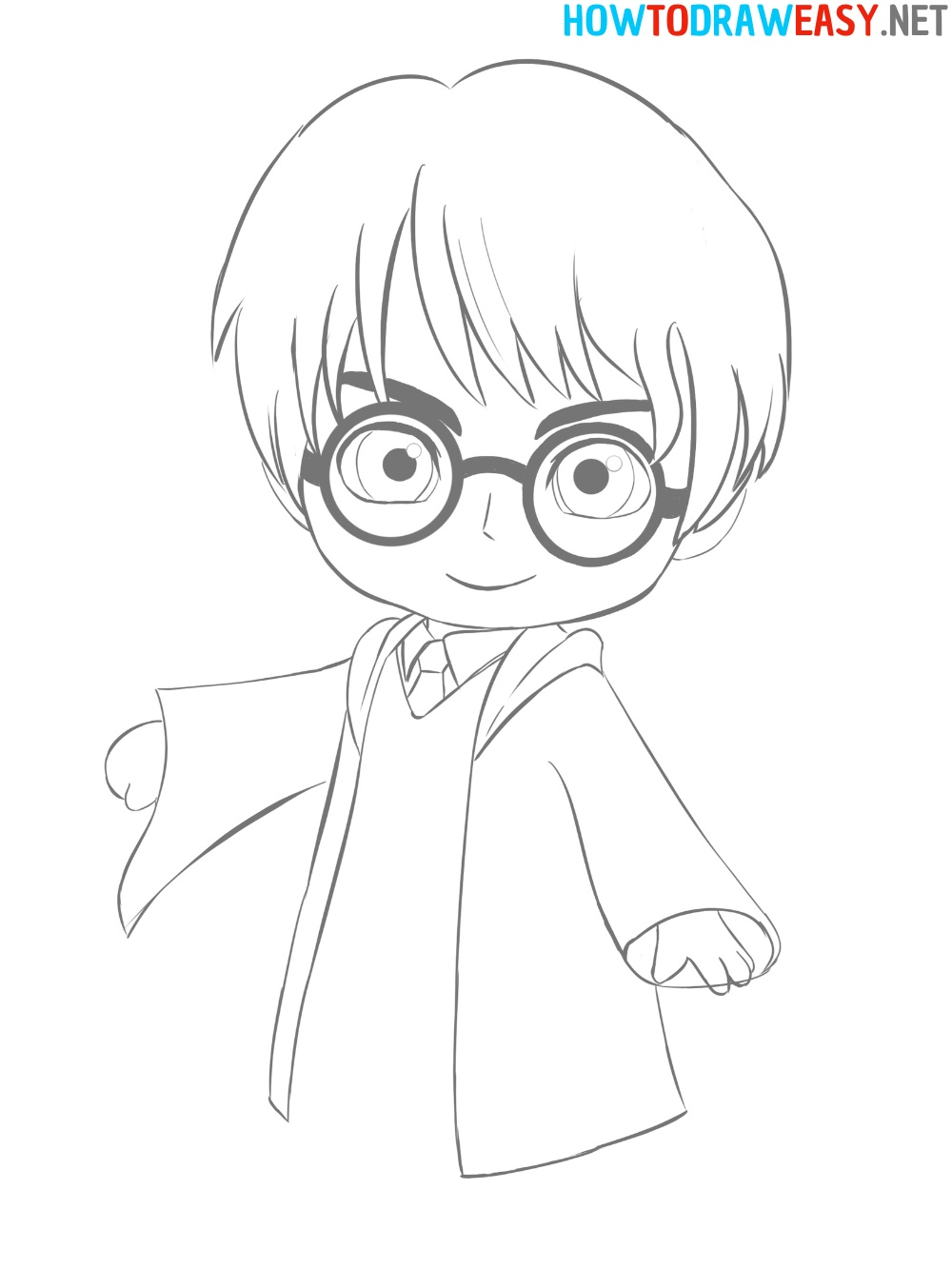 Drawing Tutorial Harry Potter