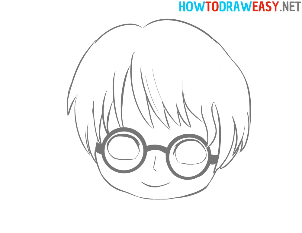 Face Harry Potter Draw