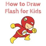 How to Draw Flash for Kids