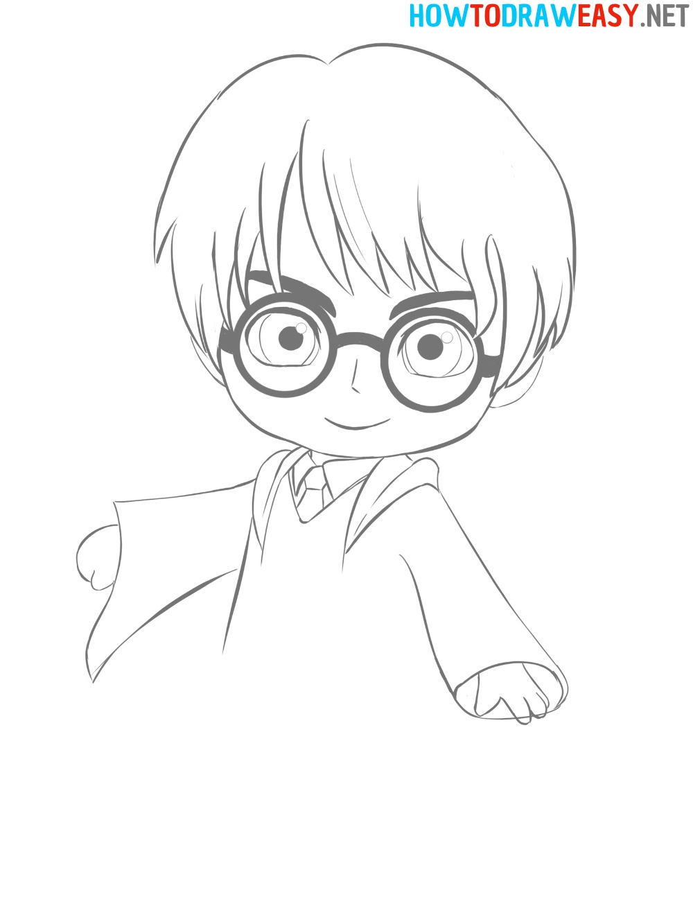 Harry Potter Drawing for beginners