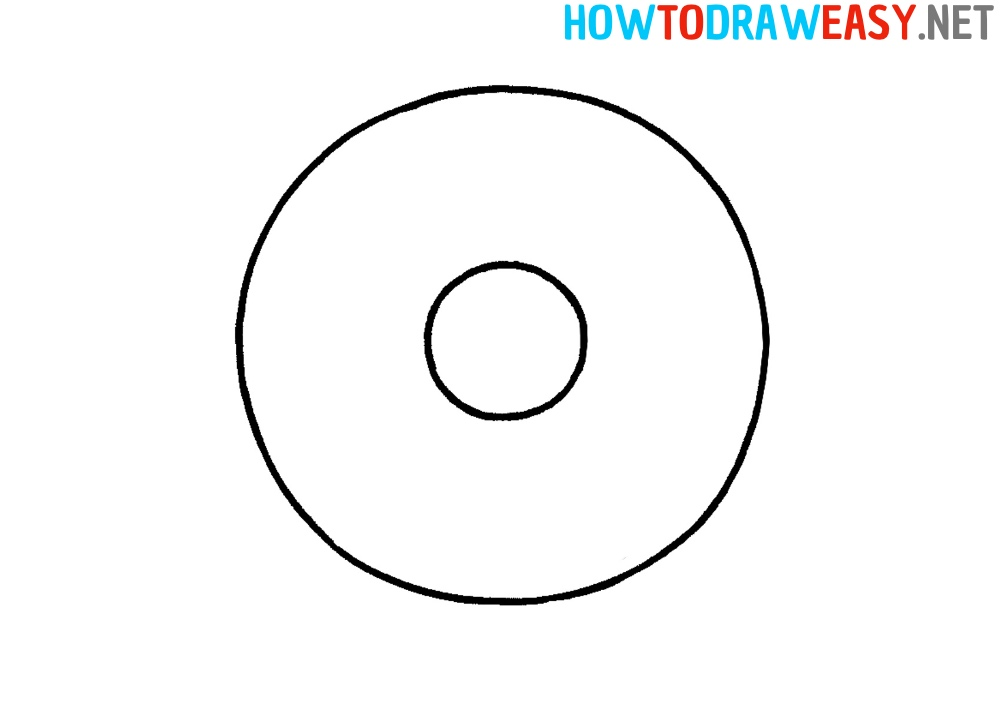 How to Draw Dunkin Donuts