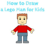 How to Draw a Lego Man for Kids