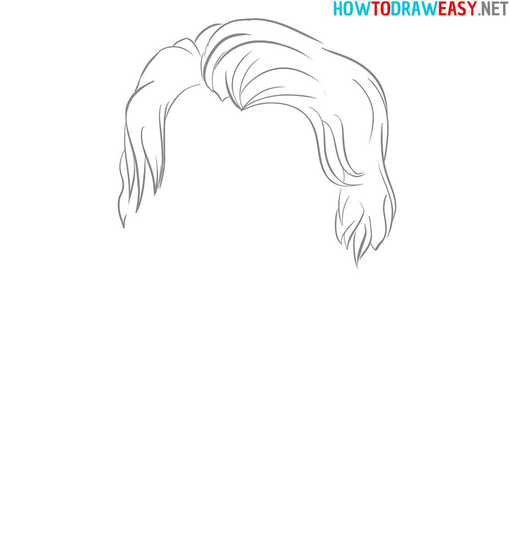 How to Sketch Joker Chibi