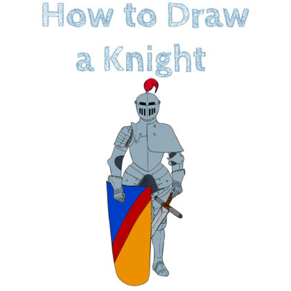 Knight How to Draw