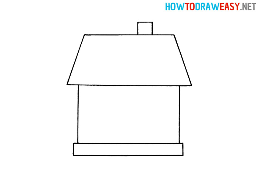 Learn how to Draw a House for Kids
