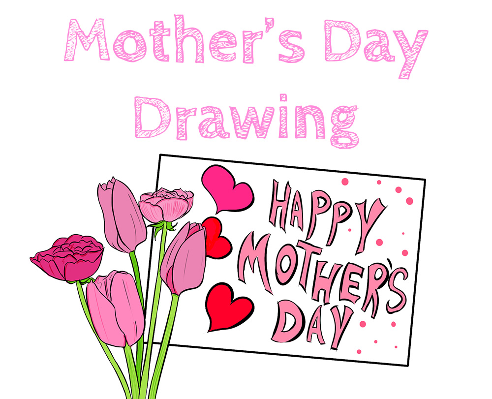 Mothers Day Drawing Easy