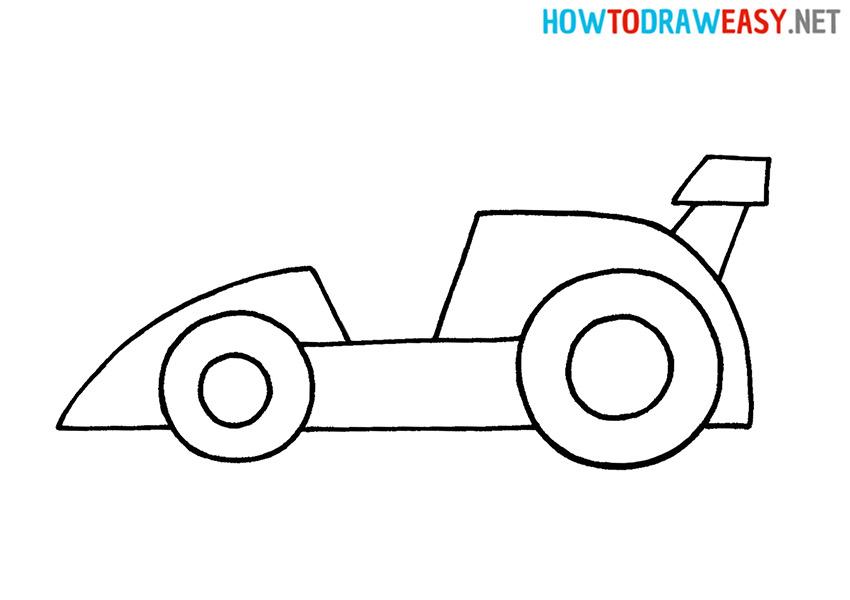 Sketching Race Car