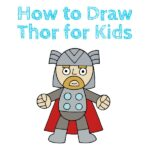 How to Draw Thor for Kids