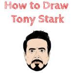 How to Draw Tony Stark
