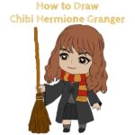 How to Draw Chibi Hermione Granger