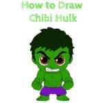 How to Draw Chibi Hulk