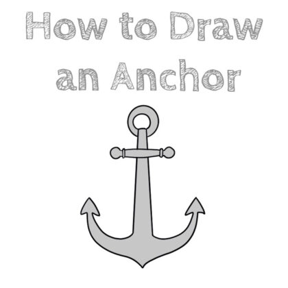 Easy Anchor How to Draw