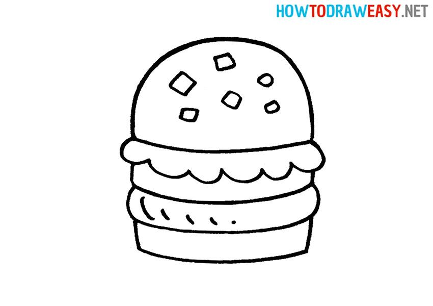 How to Draw Krabby Patty