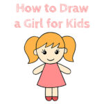 How to Draw a Girl for Kids