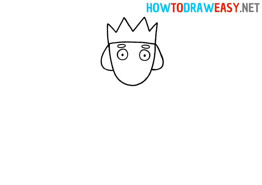 How to Draw a King Simple