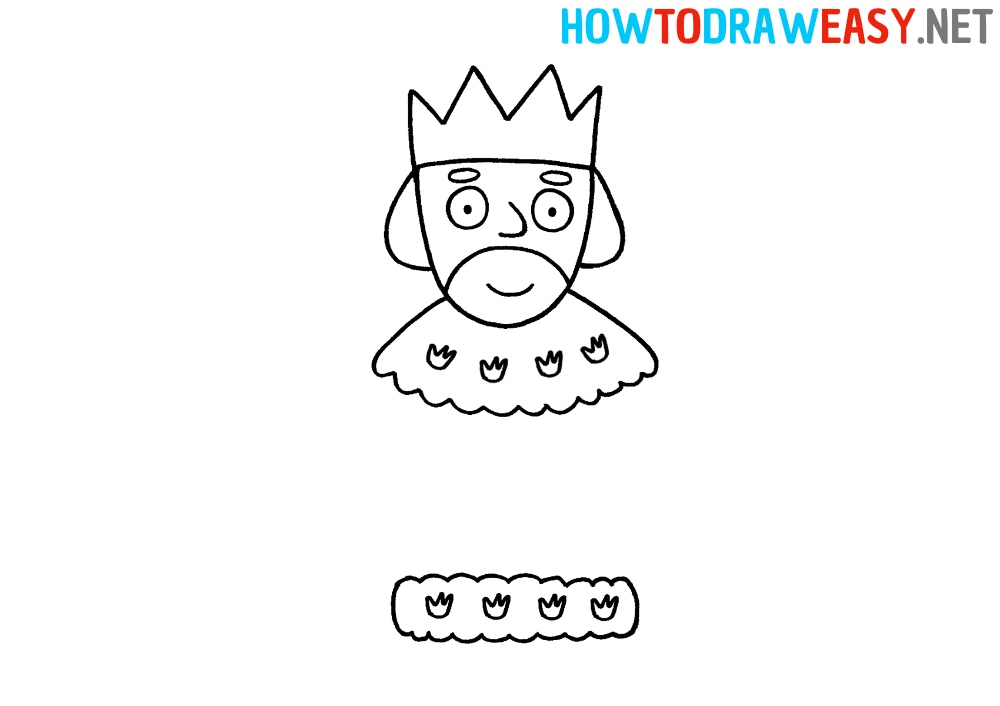 How to Draw a King for Beginners