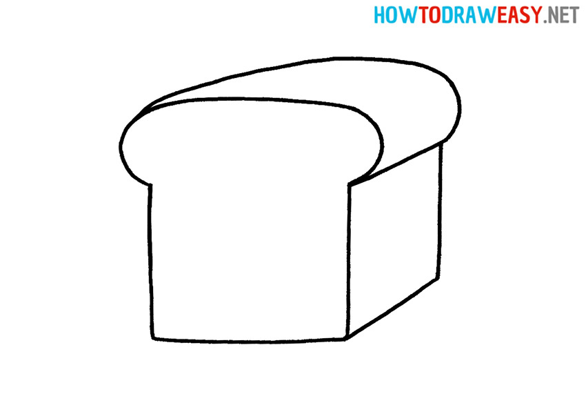 How to Drawing a Bread Easy