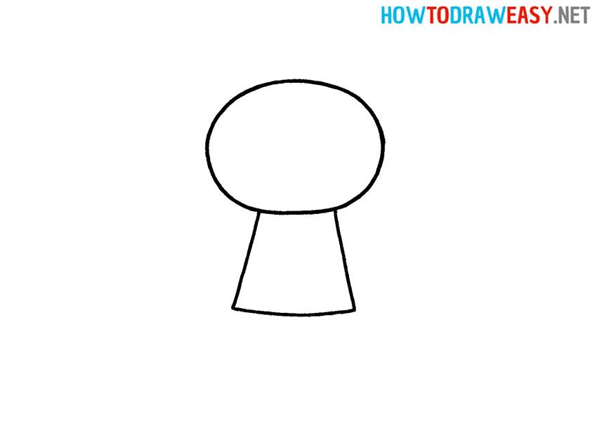 Joker Drawing Step 2