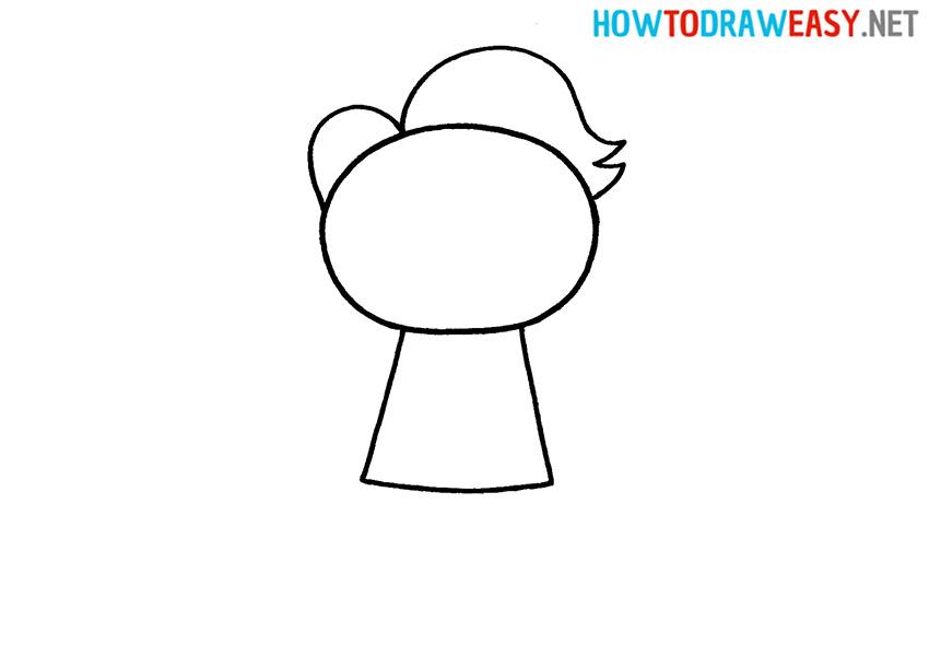 Joker Drawing Step 3